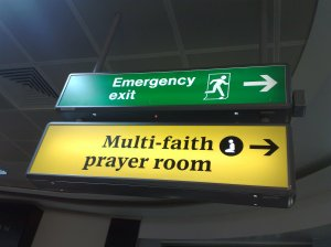 multi-faith prayer room